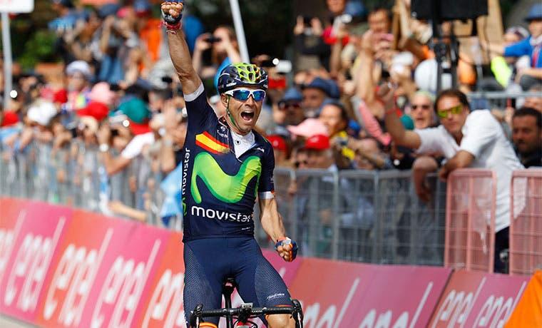 Valverde, triunfo y podio