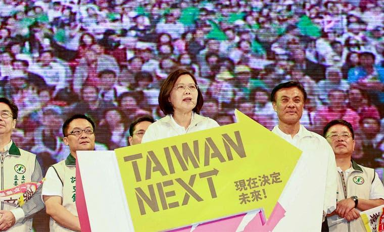 Chinos en contra de independencia de Taiwán