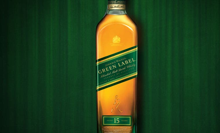 Johnnie Walker Green Label de vuelta a Costa Rica