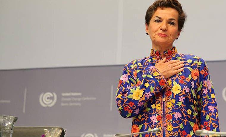 Christiana Figueres se despidió de la ONU y agradeció a países miembros