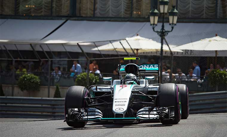 Rosberg intentará mantener su reinado en Mónaco