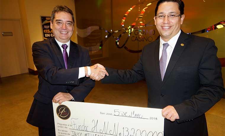 Sheraton y Grand Casino Escazú impulsan Unidad de Quemados del Hospital de Niños