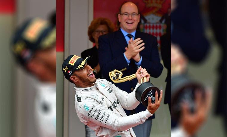 ¡Al fin ganó Hamilton!