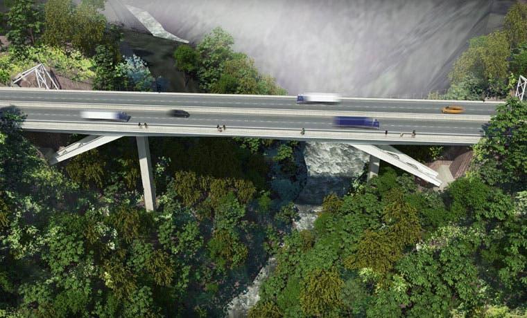 Se aprobaron los diseños de puentes sobre río Virilla y la radial en Santa Ana