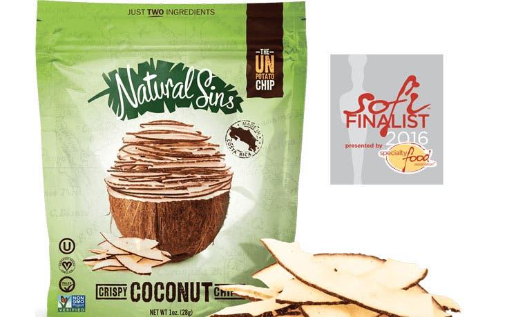 Empresa tica de snacks de coco es finalista en competencia internacional