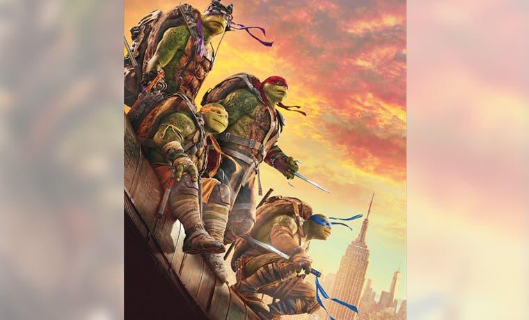 "Las ""Tortugas Ninja"" llegan a la cartelera"