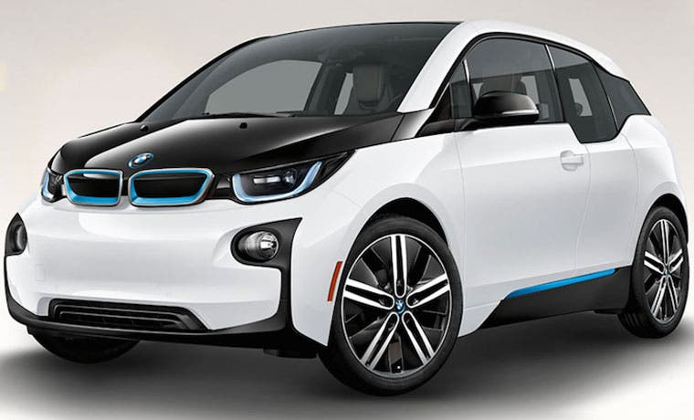 BMW presenta su primer vehículo eléctrico en el país