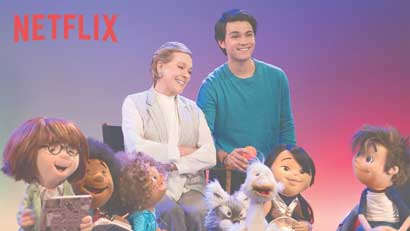Netflix lanzará serie para niños