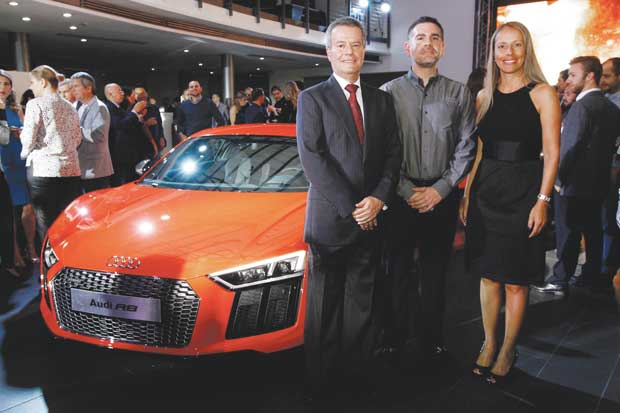 Audi celebra 20 aniversario con presentación del R8