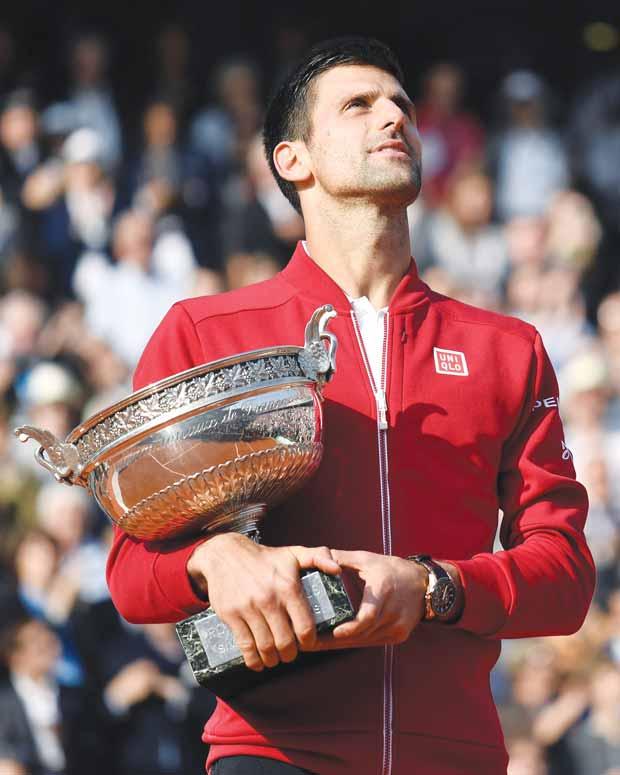 ¡Gloria para Djokovic!