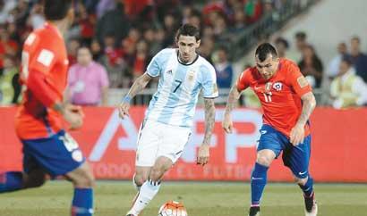 Argentina contra el rey