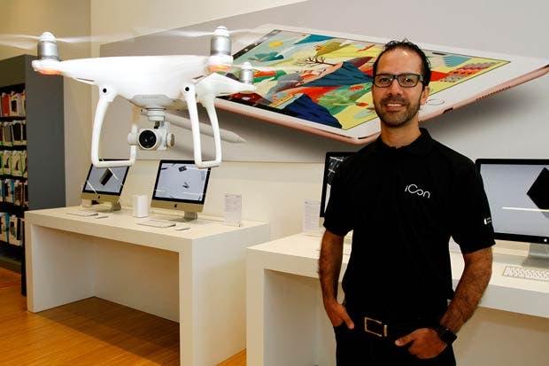 Dron Phantom 4 aterrizó en Costa Rica