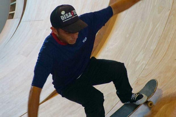 La patineta se une con el arte contemporáneo