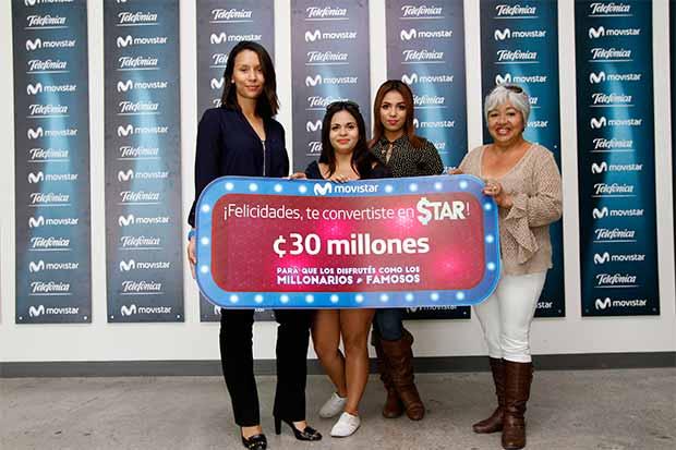 Programa de Movistar ya tiene una ganadora de ¢30 millones