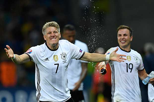 Alemania sacó colmillo