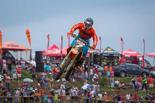 Piloto costarricense es campeón latinoamericano de motocross