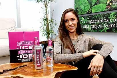 Smirnoff lanzó bebida con sabor a frambuesa