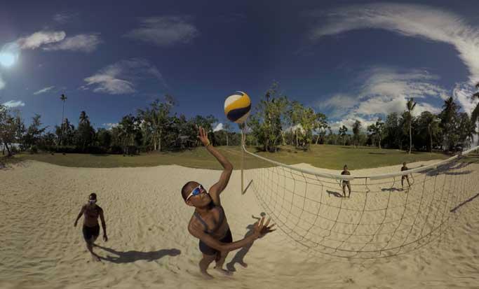 Voleibol de playa se transporta a la realidad virtual