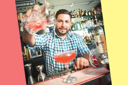 Óscar Bermúdez se adueñó del título al mejor bartender