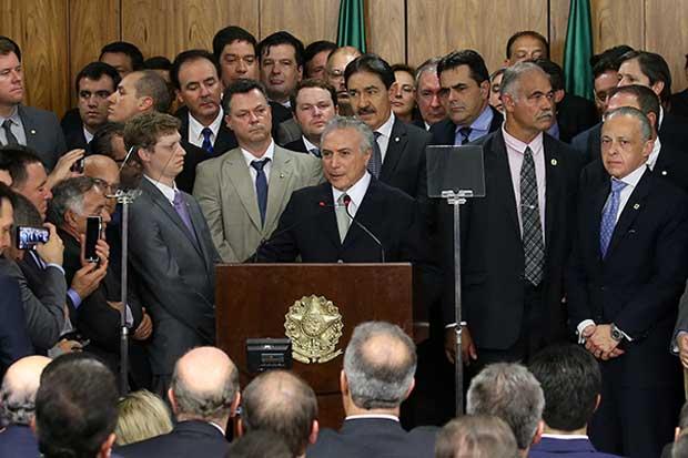 Michael Temer se recupera y crece optimismo en Brasil