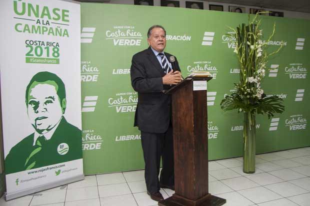 Abogado Enrique Rojas se lanzó a campaña por el PLN
