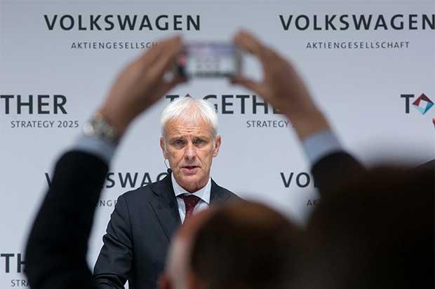 Vehículos eléctricos y autónomos, la nueva estrategia de Volkswagen