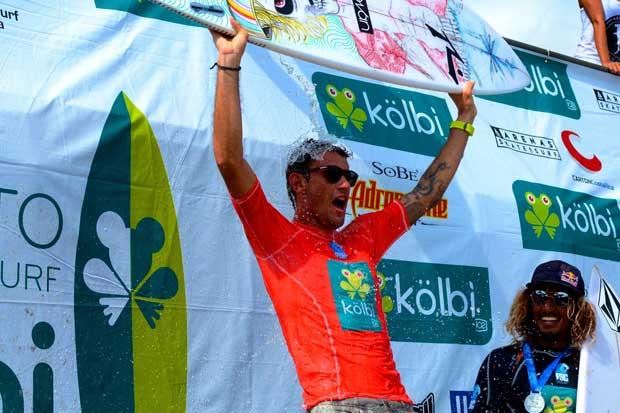 Anthony Fillingim es el nuevo Campeón Nacional de Surf