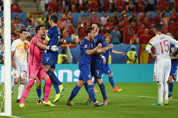 Victoria de Croacia y España enfrentará a Italia
