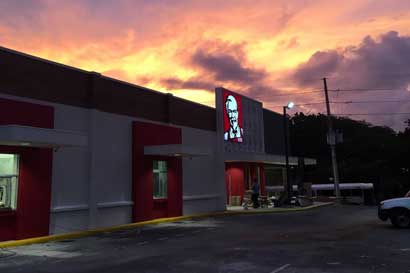 KFC abre local en anterior Burger King en Nicoya