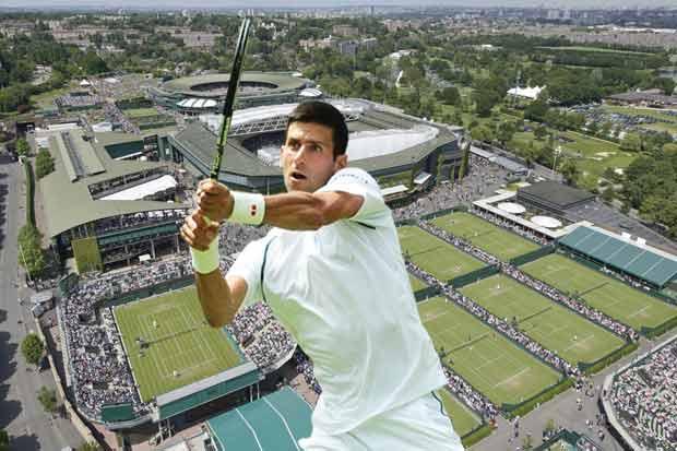 Djokovic apunta al glamoroso Wimbledon