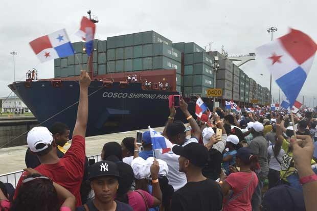 """""""Juntos lo hicimos"""": así celebraron los panameños la reapertura del Canal de Panamá"""