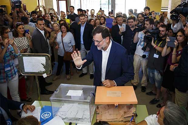 Bonos españoles al alza tras victoria de Rajoy con mayor margen