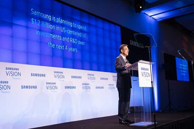 Samsung invertirá $1.200 millones en Internet de las Cosas