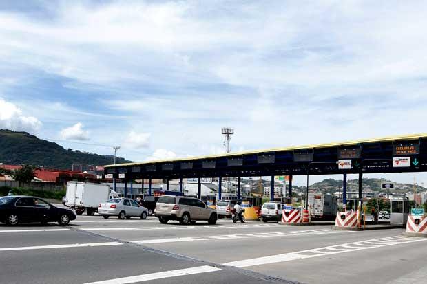Tarifas de peajes en Ruta 27 aumentarán entre ¢10 y ¢50