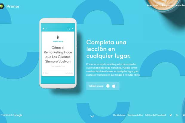 Google lanzó app con lecciones de marketing digital