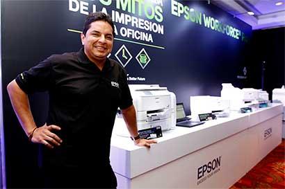 Epson busca revolucionar impresión corporativa