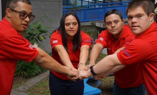 Costa Rica participará en los juegos mundiales para atletas con síndrome de down