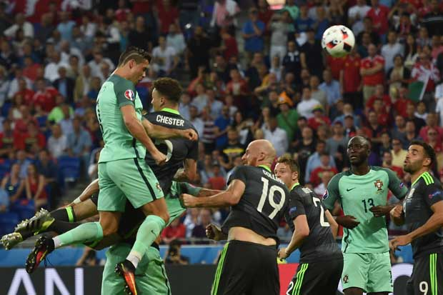 Portugal, primer finalista de la Euro
