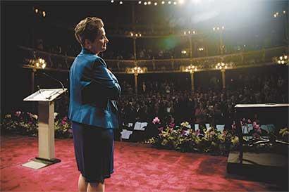 "Christiana Figueres: ""Éxito alcanzado en Acuerdo de Cambio Climático eleva mis posibilidades"""