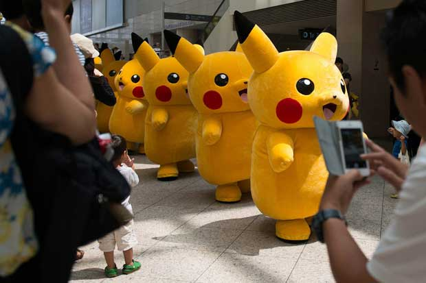 Pokemon Go dispara acciones de Nintendo