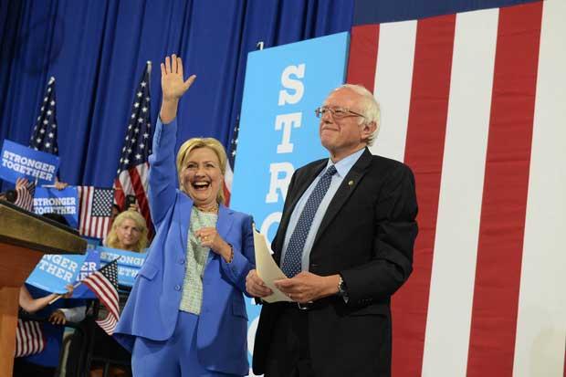 Bernie Sanders oficializa su apoyo a candidatura de Hillary Clinton