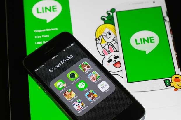 Line, primera aplicación de chat que sale a la bolsa