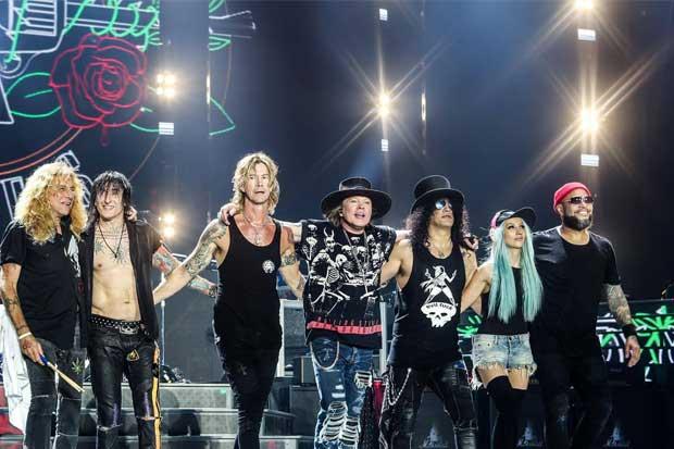 Guns N' Roses se presentará en el país