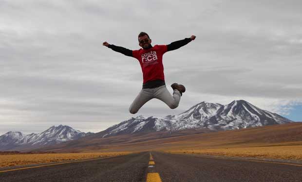 Tico recorrerá América desde la Antártida hasta Costa Rica
