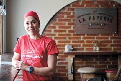 Emprendedoras crean restaurante La Papería