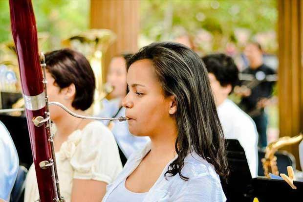Fagotista tica admitida en el Conservatorio de Sídney
