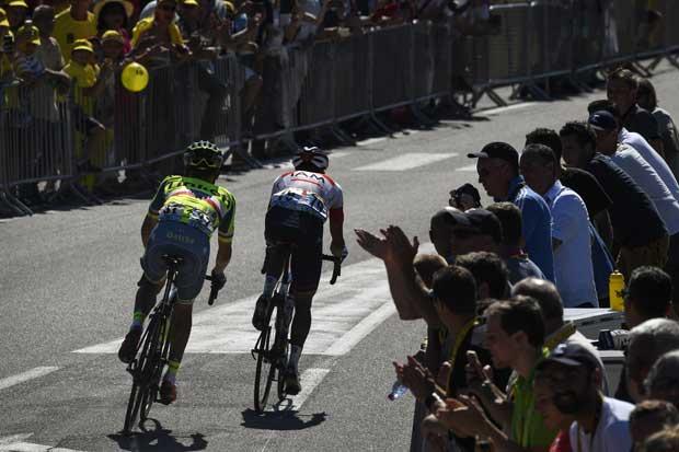 Colombiano Jarlinson Pantano conquista su primera etapa en Tour de Francia