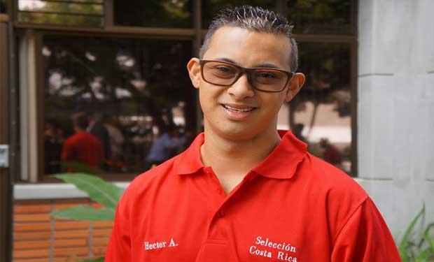 Tico ganó oro en mundial para atletas con síndrome de Down