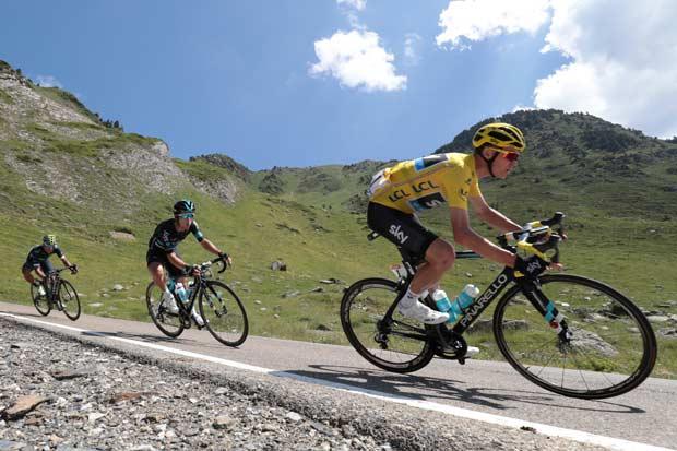Los Alpes, última prueba para Froome