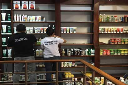 Salud decomisa más de 66 mil productos por irregularidades